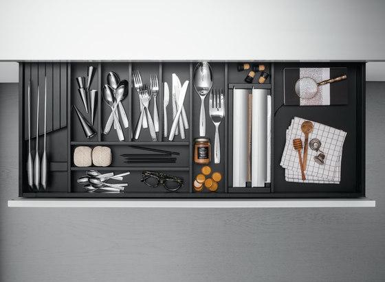 Cassetti di Arclinea | Organizzazione cucina