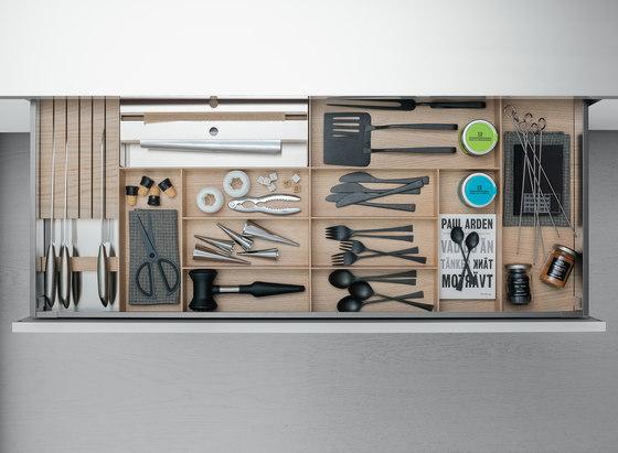 Drawers by Arclinea | Kitchen organization