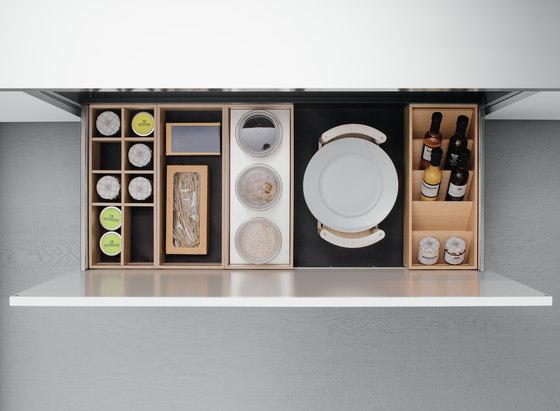 Cajones de Arclinea | Kitchen organization