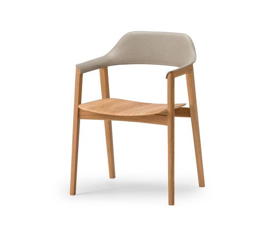Ten Armchair - Back upholstered de Conde House | Sillas