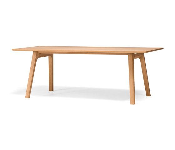 Ten Table 210 oak solid de Conde House   Mesas comedor