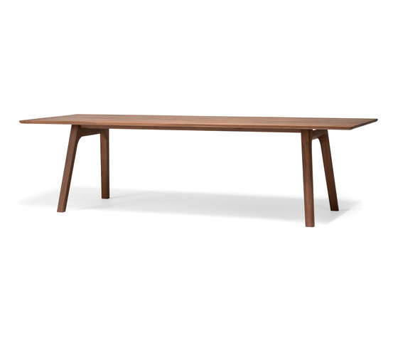 Ten Table 270 walnut solid by Conde House | Dining tables