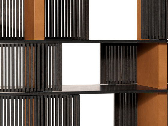 Lloyd bookcase by Poltrona Frau | Shelving