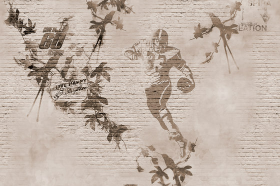 Traces Glorious by GLAMORA | Bespoke wall coverings