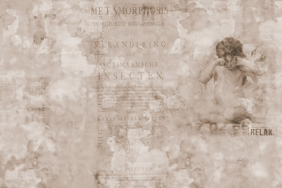 Traces Angelee by GLAMORA | Bespoke wall coverings