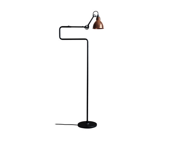 lampe gras n 411 copper clairage g n ral de dcw ditions architonic. Black Bedroom Furniture Sets. Home Design Ideas