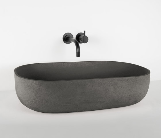 Rho by Kast Concrete Basins | Wash basins