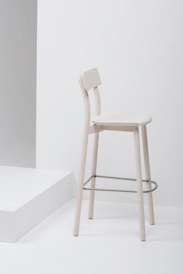 Chiaro Barstool   MC8 by Mattiazzi   Bar stools
