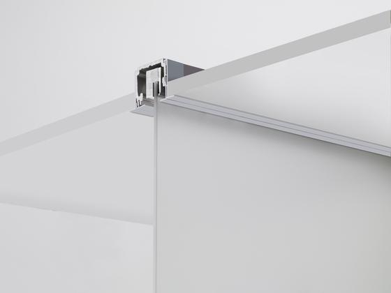 Invisibile Telescopico V-7100 by Metalglas Bonomi | Sliding door fittings