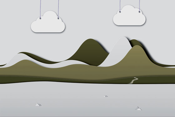 Paper Cut Little Story by GLAMORA | Bespoke wall coverings
