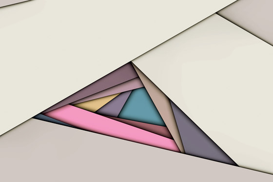 Paper Cut Breakout von GLAMORA | Wandbeläge