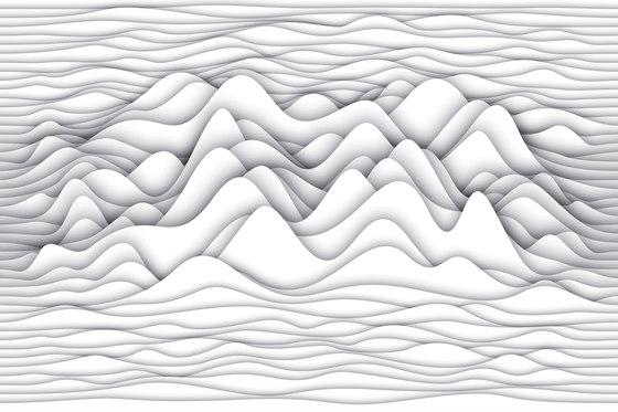 Paper Cut Belly Wood by GLAMORA | Bespoke wall coverings