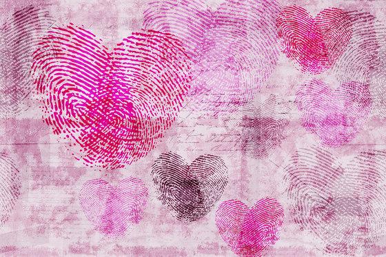 Flirt Heartprint di GLAMORA | Rivestimenti su misura