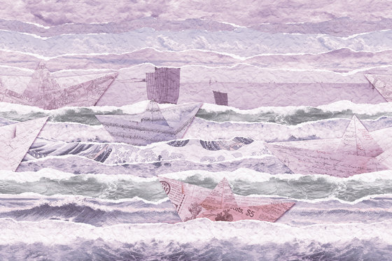 Flirt Paper Ship di GLAMORA | Rivestimenti su misura