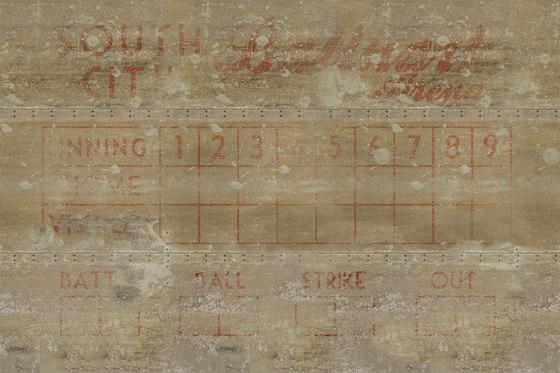 Wall Script Ballpark by GLAMORA | Bespoke wall coverings
