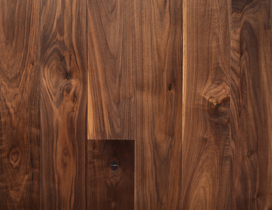 Landhausdiele Walnuss Amerikanisch Natur de Trapa | Planchers bois