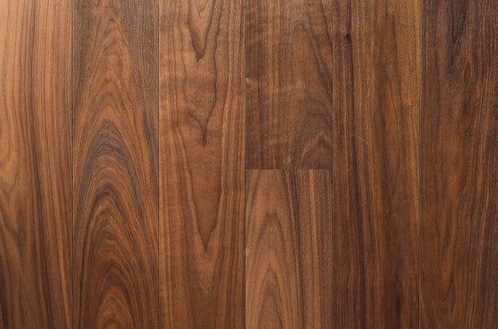 Landhausdiele Walnuss Amerikanisch Natur Naturell by Trapa | Wood flooring