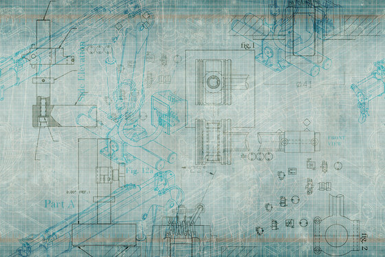 Template Blueprint by GLAMORA | Bespoke wall coverings