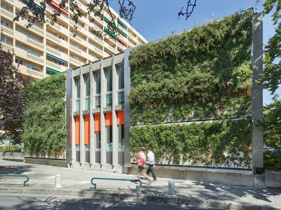 SKYFLOR® - Green Wall Facade System by Creabeton Matériaux | Facade systems