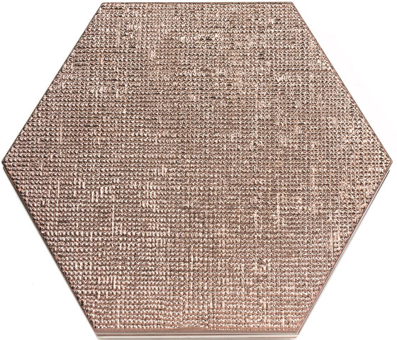 Geom copper text by ALEA Experience | Ceramic tiles