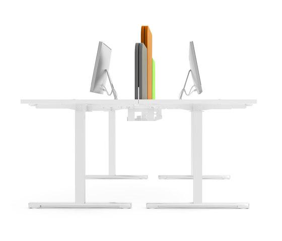 Yan T by MDD   Desking systems