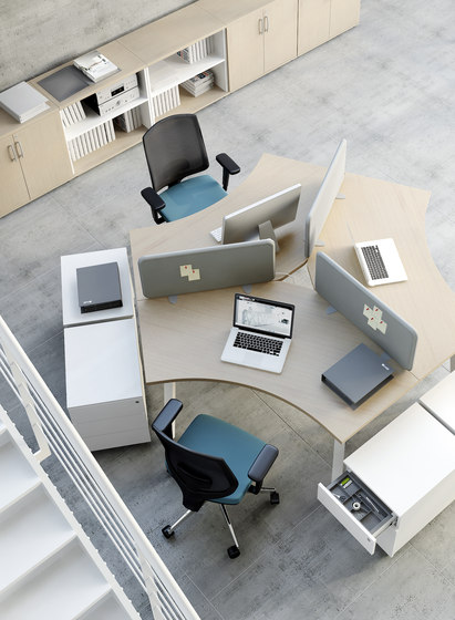 Ogi A by MDD | Desking systems
