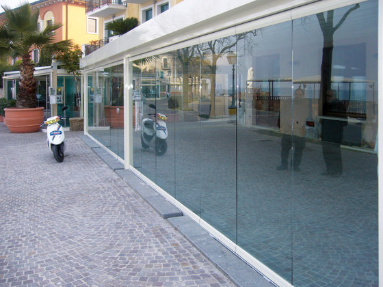Balconglas Falce by Metalglas Bonomi | Balcony glazing