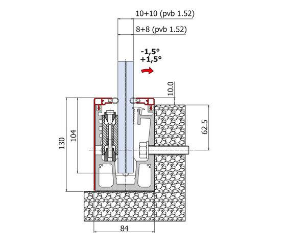 Maxima Climb Light B-4260 de Metalglas Bonomi | Acristalamiento de balcones