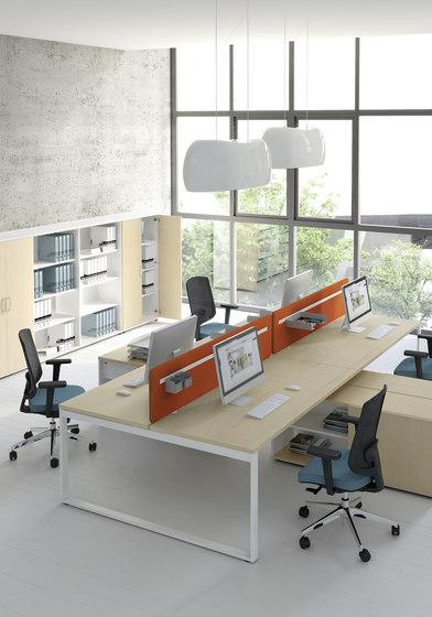 Ogi Q by MDD   Desking systems