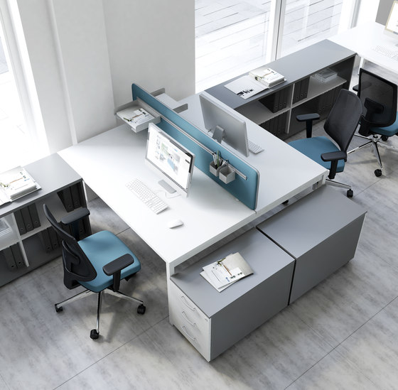 Ogi Y by MDD | Desking systems