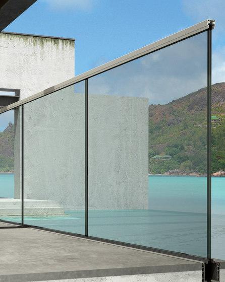 Maxima Deep B-4050 by Metalglas Bonomi | Balcony glazing