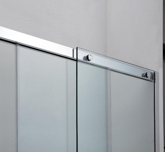 BX-1000 Compact by Metalglas Bonomi | Shower door fittings