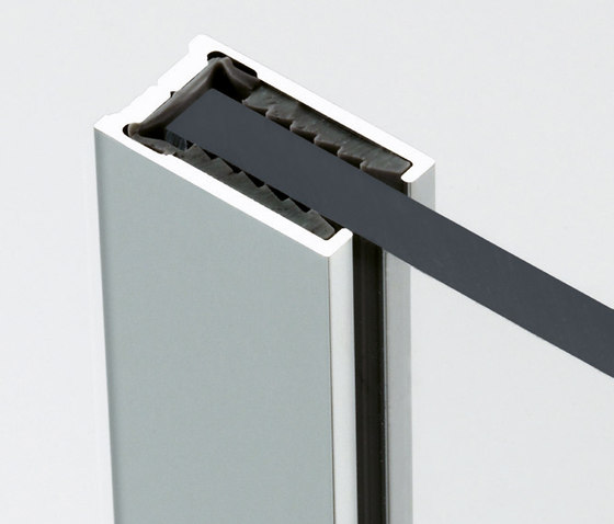BX-PF-01 by Metalglas Bonomi | Shower door fittings
