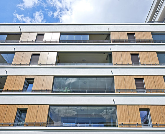 Balcony glasing SL 25 by Solarlux | Balcony glazing