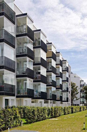 Balcony glasing SL 25 XXL by Solarlux | Balcony glazing