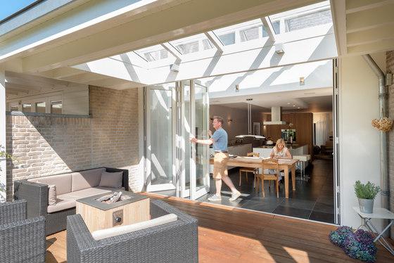 Bi-folding doors SL 78 di Solarlux   Sistemi di finestre