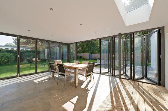 Bi-folding doors SL 80 by Solarlux | Window systems