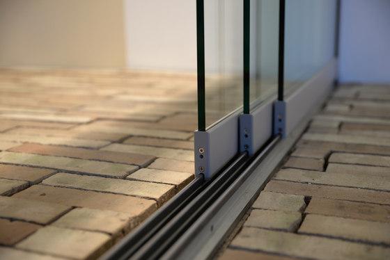 Horizontal Sliding Wall by Solarlux | Window types