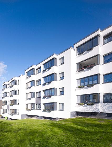 Balcony glasing SL Modular wärmegedämmt de Solarlux | Sistemas de ventanas