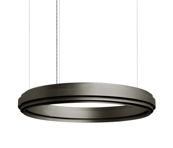 Empire I black by JSPR | Suspended lights