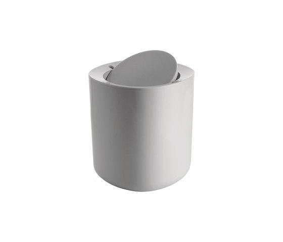 Birillo PL010 W di Alessi | Pattumiera bagno