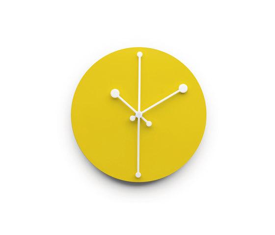 Dotty Clock ABI11 Y by Alessi | Clocks
