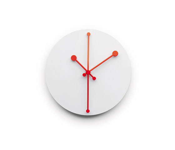 Dotty Clock ABI11 W de Alessi | Relojes