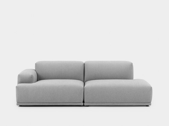 Connect Sofa | 2-seater open de Muuto | Canapés d'attente