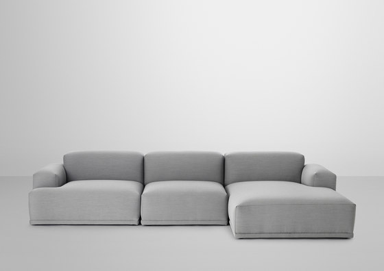 Connect Sofa | 3-seater lounge de Muuto | Canapés d'attente