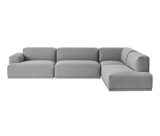 Connect Sofa | 3-seater corner by Muuto | Sofas