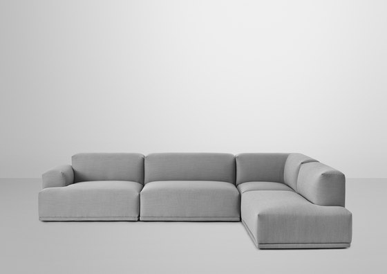 Connect Sofa | 3-seater corner di Muuto | Divani lounge