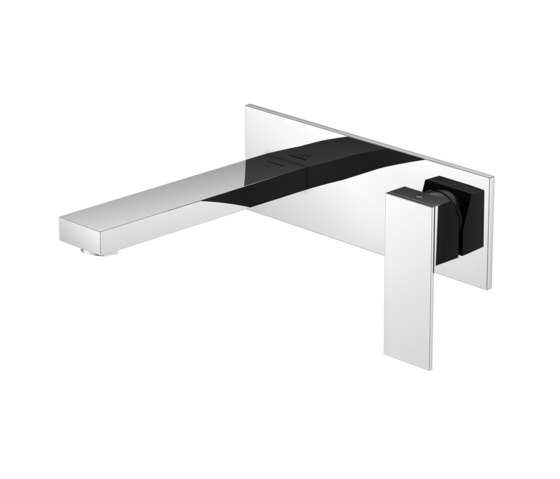 160 1854 Wall mounted single lever basin mixer by Steinberg | Wash basin taps