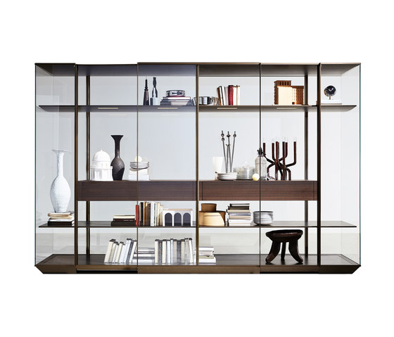 Kristal by Molteni & C | Display cabinets