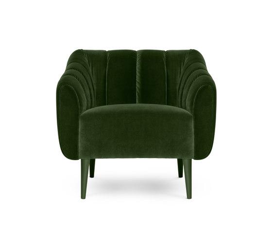 Houston | Armchair di MUNNA | Poltrone